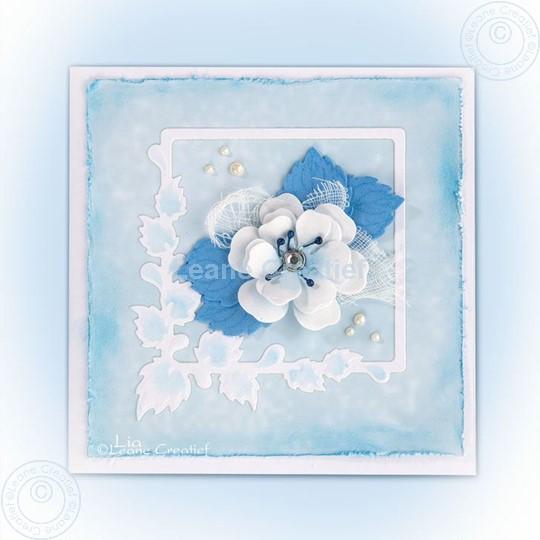 Image sur Blossom using set 2 blue violet