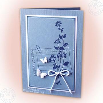 Image de Flower swirls stamp