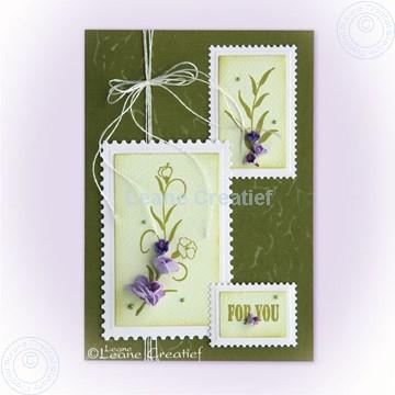 Image de Stamp Carnation Swirl