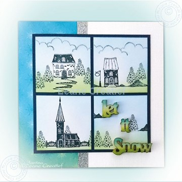 Image de Playfull houses combi stamps