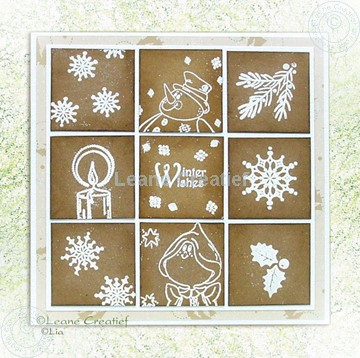 Image de Stamp mosaic card