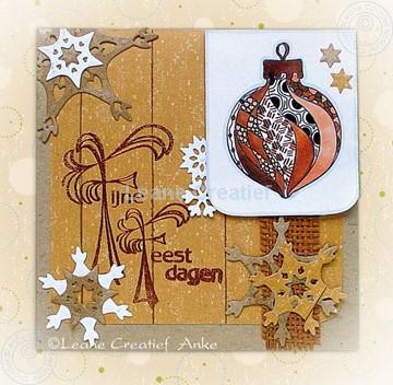 Image de Christmas card in brown tones