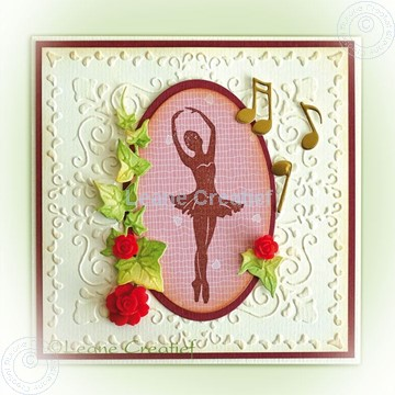 Picture of Ballerina clearstamp
