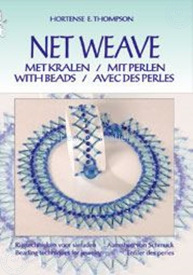 Picture of Net Weave with beads