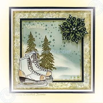 Image de Figure skate & Crystals & Trees