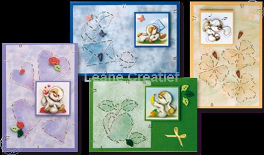 Picture of Mylo & Friends® StickerStitch® cards