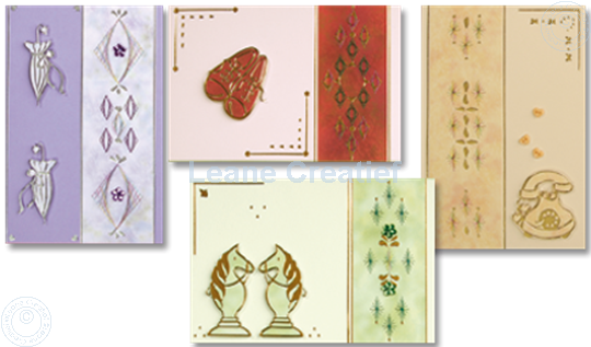 Picture of Embroidery cards with stickers