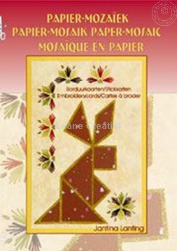 Image de Mosaïque en papier avec cartes à broder