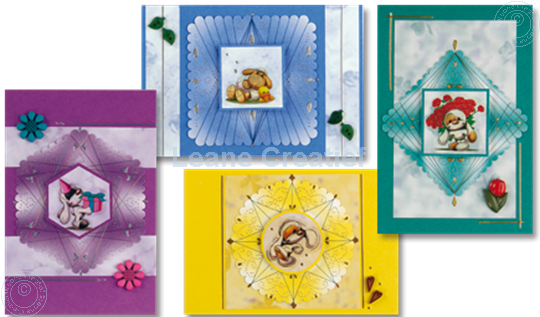 Picture of Mylo & Friends® Spirella® paper lacing cards