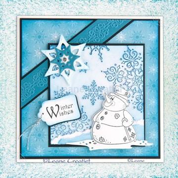 Image de Snowman die & stamp