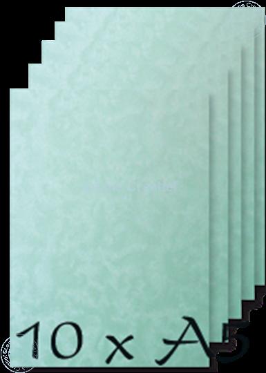 Afbeelding van Papier A5 Peacock blue 200 gr