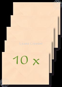 Afbeeldingen van Enveloppen 12x17,5cm perzik