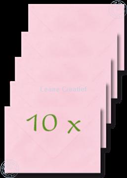 Afbeeldingen van Enveloppen 12x17,5cm roze