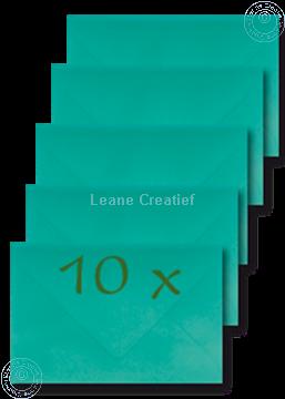 Afbeeldingen van Enveloppen 12.5x18,5cm truquoise