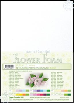 Afbeeldingen van Flower foam A4 sheet white
