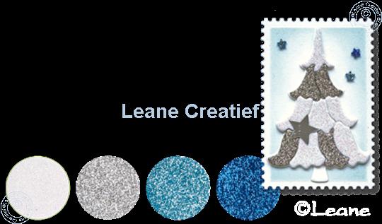 Image sur Glitter Foam set 3 bleu/blanc/argent