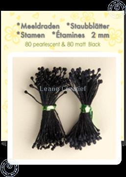 Bild von Staubblätter ± 80 matt & 80 pearl black