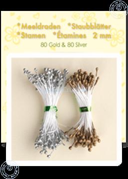 Image de Étamines  ±80 gold 80 silver