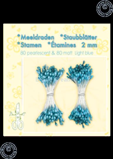 Afbeelding van Meeldraden ± 80 matt & 80 light blue