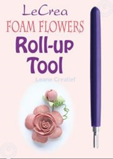 Afbeelding van Foam Flowers Roll-up tool