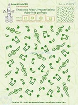 Bild von Background Musical symbols