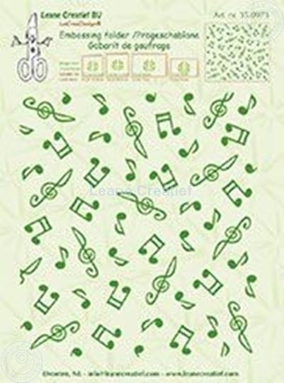 Afbeelding van Background Musical symbols