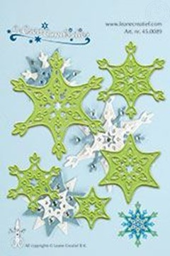 Image de Combi Die: Snow crystal