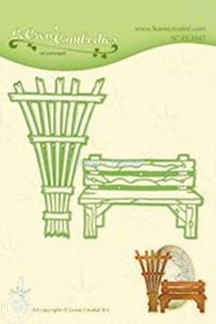 Afbeeldingen van Lea'bilitie Garden benche & trellis