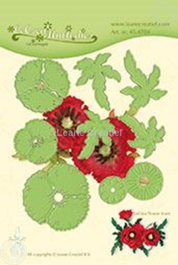 Image sur Lea'bilitie Multi die Flower 013 Poppy