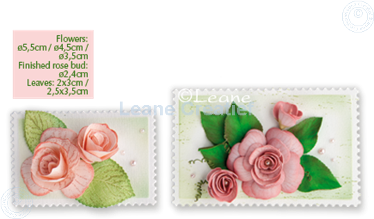 Picture of Lea'bilitie Multi die Flower 016 Rose