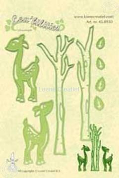 Afbeeldingen van Lea'bilities deer & trees