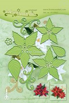 Afbeeldingen van Multi die flower 004 Ponsettia