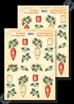 Bild von Ausschneideblatt Christmas arrangement