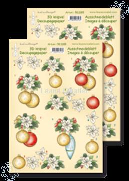 Bild von Ausschneideblatt Weihnachts Kugel