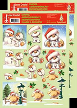 Bild von Ausschneideblatt Mylo & Friends® Weihnachten #13