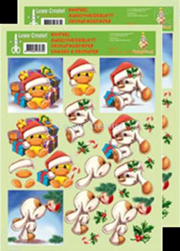 Bild von Ausschneideblatt Mylo & Friends® Weihnachten #14