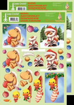 Bild von Ausschneideblatt Mylo & Friends® Weihnachten #19