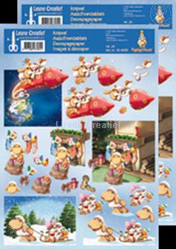 Bild von Ausschneideblatt Mylo & Friends® Weihnachten #29