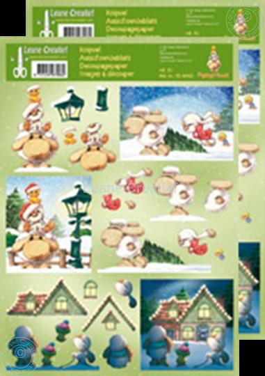 Bild von Ausschneideblatt Mylo & Friends® Weihnachten #30