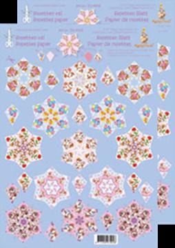 Bild von Rosetten Schneideblätter Mylo & Friends® rot/blau