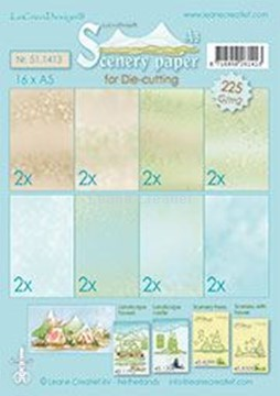Image de Scenery papers A5 225 grm