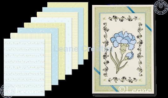 Image sur Design Paper Music blue/green