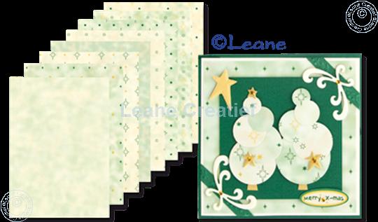Afbeelding van Design papier green tones A5