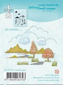 Afbeeldingen van Combi stamp Landscape
