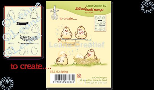 Image sur Combi stamp Spring