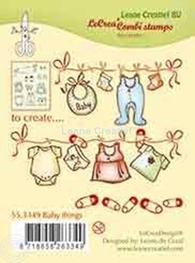 Image sur Combi stamp Baby things