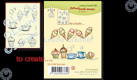 Image sur Combi stamp Tea time
