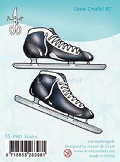 Image sur Clear stamp Skates
