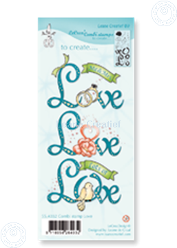 Image de Combi stamp Love
