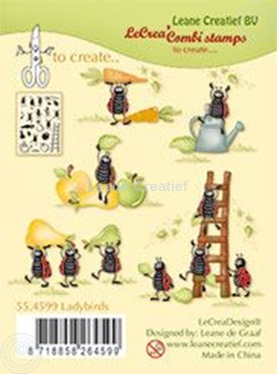 Image sur Clear stamp Ladybugs